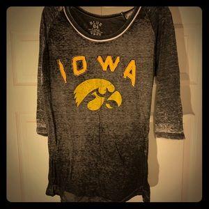 Iowa Hawkeyes burnout
